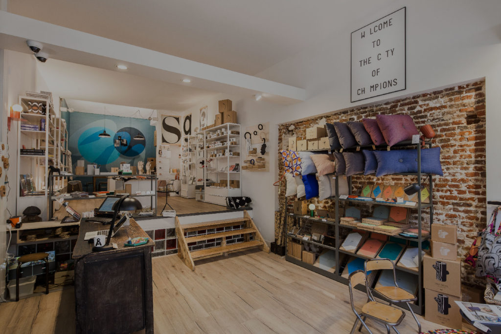 Concept store décoration et atelier