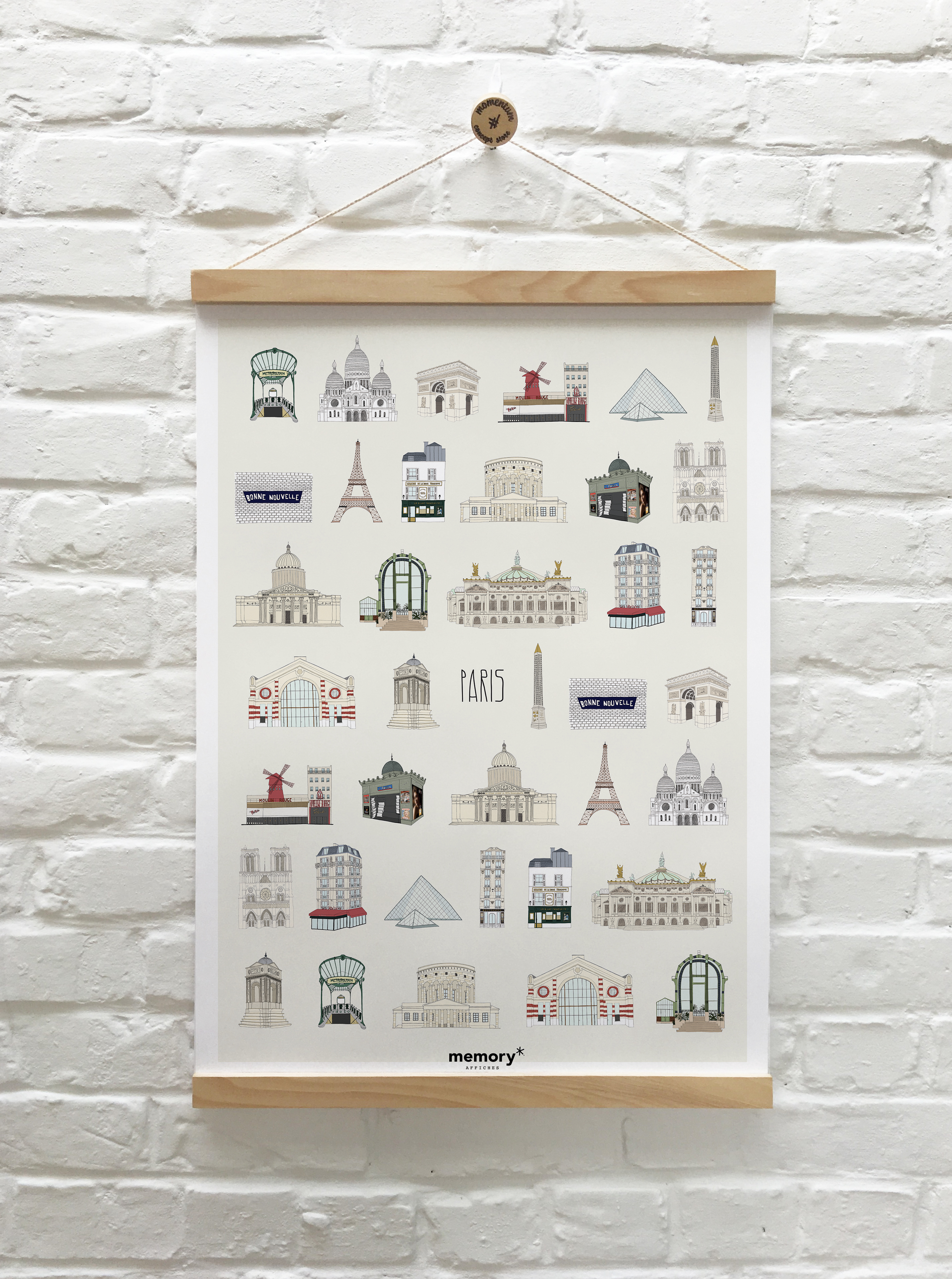 Memory Affiches